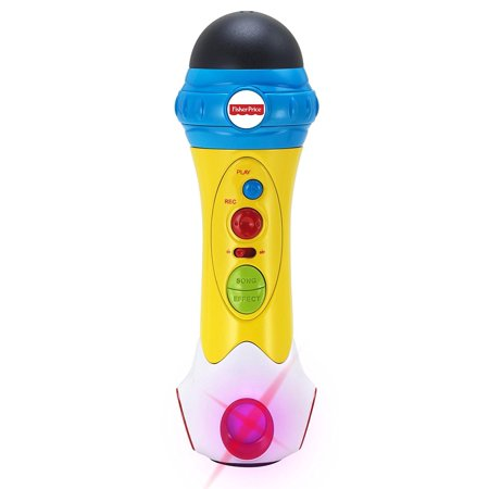 - Microphone/Karaoke - Music Rappin' Recording Microphone - Sing, Record & Playback - Designed for Kids, Designed just for kids! By Fisher Price Music ()