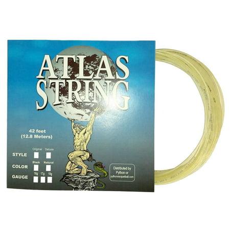 Python Atlas Deluxe 17g Natural Racquetball String