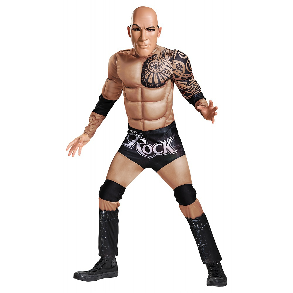 The Rock Muscle Classic Child Costume - Medium