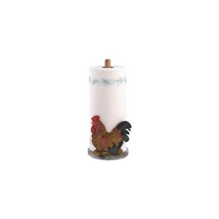 Zingz & Thingz 57070374 Country Rooster Paper Towel (Country Paper Holders)