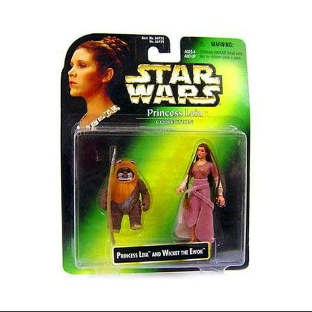 Star Wars Princes Leia Collection Princess Leia & Wicket the Ewok Action Figure (Star Wars Ewok Baby)