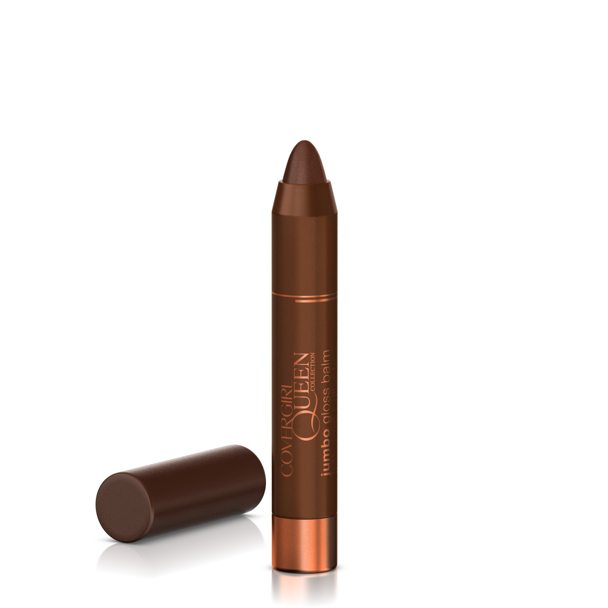COVERGIRL Queen Collection Jumbo Gloss Balm, Bronze Bling Q875, 0.13 Oz