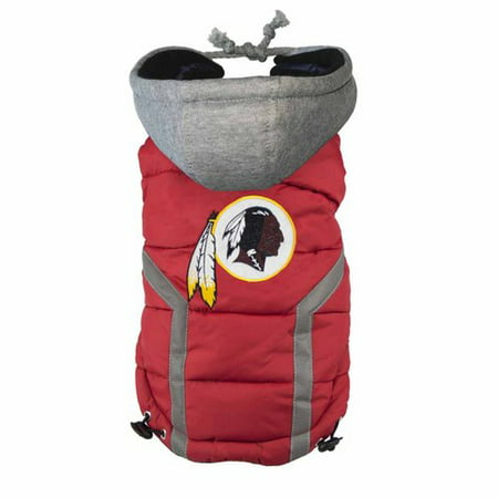timeless design fb19d 2d7f2 Washington Redskins Puffer Vest