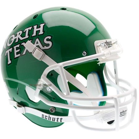 North Texas Football - Schutt Replica North Texas Mean Green XP Football Helmet