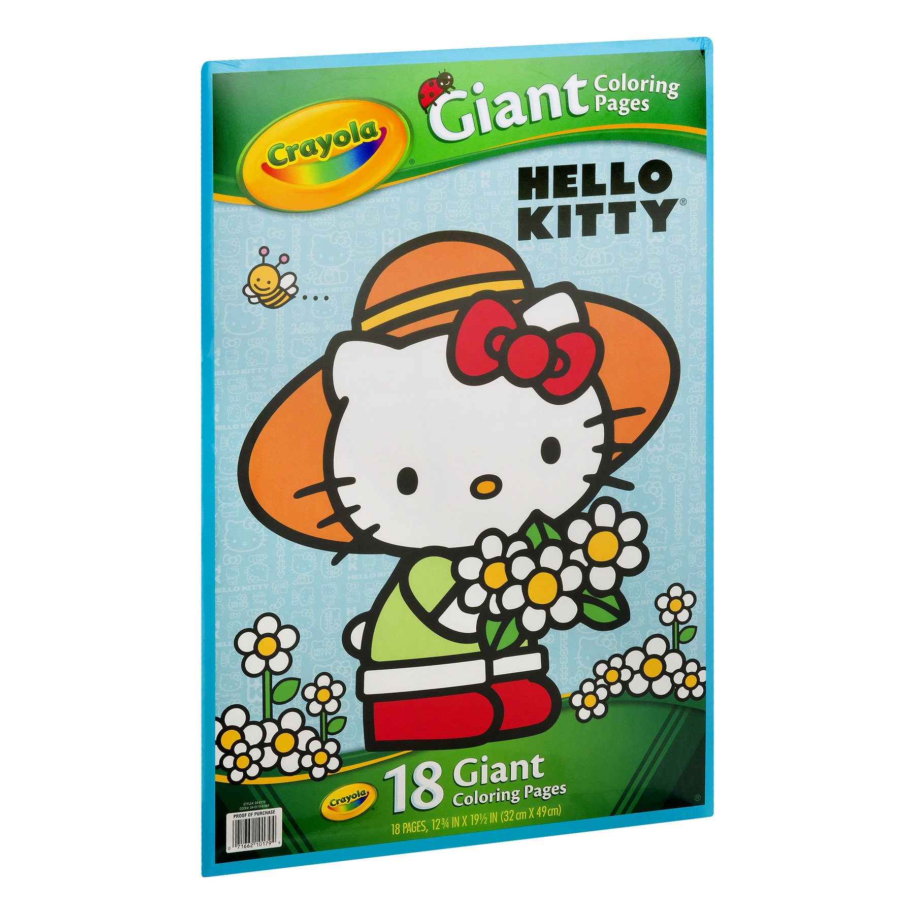 Crayola Giant Coloring Pages Hello Kitty 18 Count