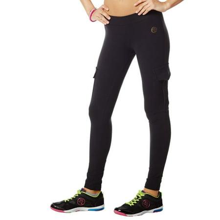 Women's Zumba Fitness Shake N Break Cargo Leggings - Zubaz Leggings