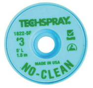 TECHSPRAY 1822-5F No-Clean Green #3 Braid - AS