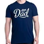 Shop4Ever Men's New Dad Father's Day Gift Daddy to Be Graphic T-shirt