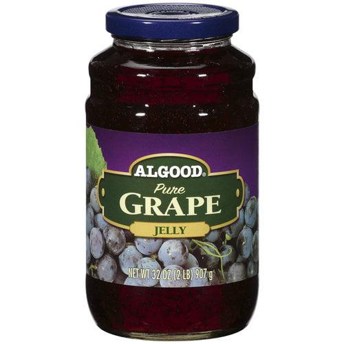 Algood Food Pure Grape Jelly, 32 oz