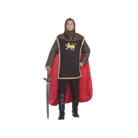 Mens Medieval Knight Adult Halloween Costume