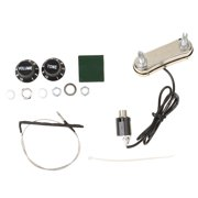 New Passive Tuner Preamp Pickup Kit for Acoustic Guitar Musical Instruments