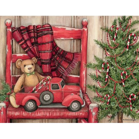 Bear in a Chair Boxed Christmas Cards (Other) Choir Christmas Card