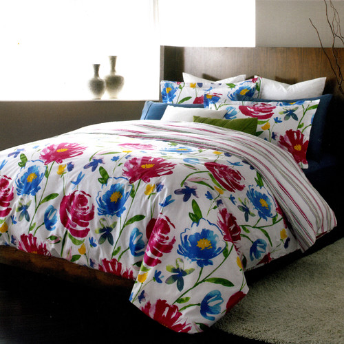 LJ Home Piccadilly 3 Piece Reversible Duvet Set