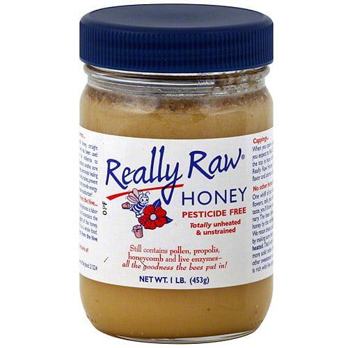 Really Raw Honey, 16 oz (Pack of 12)