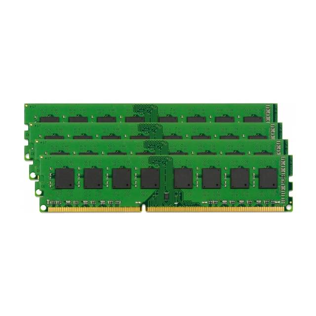 Kingston ValueRAM KVR24R17D4K4/128 DDR4-2400 128GB(4x32G)/4Gx72 ECC/REG CL17 Server Memory Kit