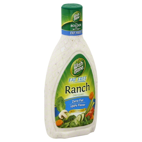 Wish-Bone® Fat Free Ranch Dressing 16 fl. oz. Bottle
