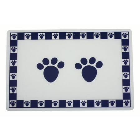 Pet Paws Cobalt Placemat