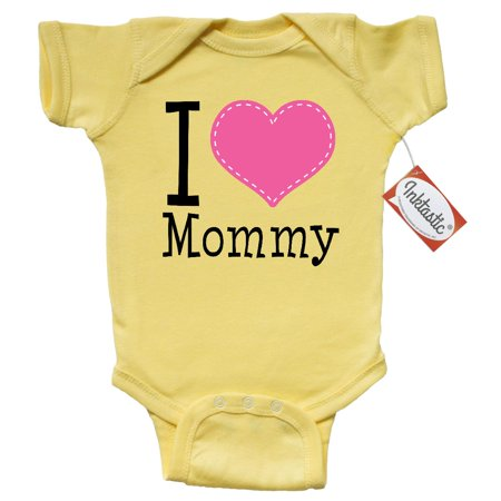 I Love Mommy Infant Creeper (Cute Mom And Baby Halloween Costume Ideas)