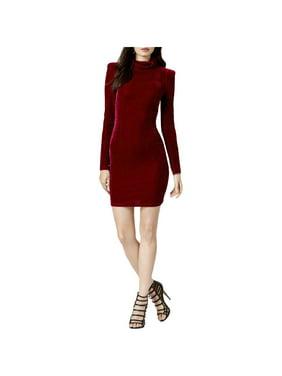 452edcf1e33be Free shipping. Product Image Guess Womens Olga Velvet Mini Wear to Work  Dress
