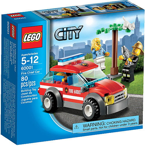 LEGO City Fire Chief Car Play Set