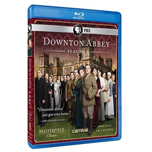 Downton Abbey: Season 2 (Blu-ray) (Original UK Unedited Edition)