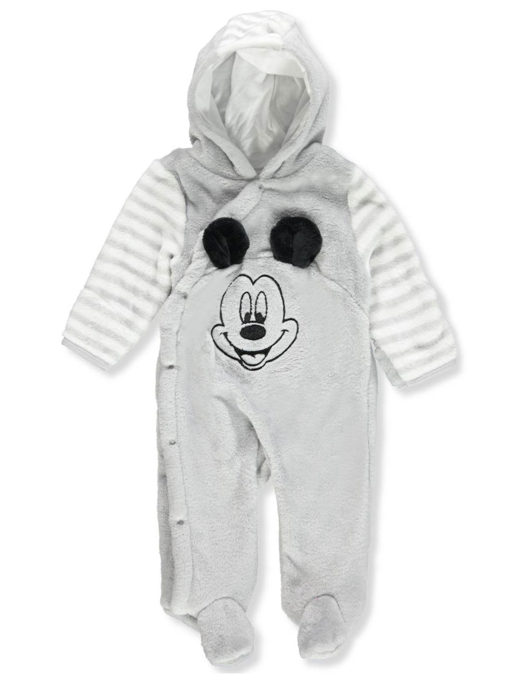 Disney Mickey Mouse Baby Girls' Hooded Pram Suit