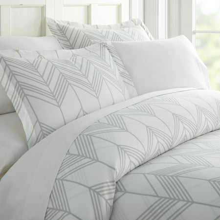 Simply Soft 3 Piece Alps Chevron Pattern Duvet Cover Set