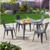 Deals on Better Homes and Gardens Camrose Farmhouse 5-Piece Dining Set