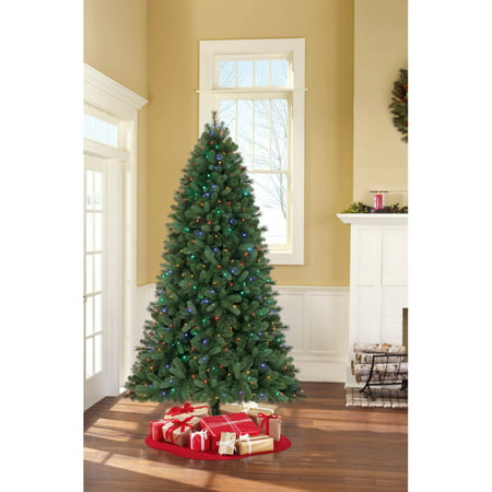 holiday time pre lit 75 norwich spruce artificial christmas tree green color