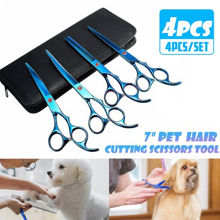 Cat Grooming Shears (4Pcs 7