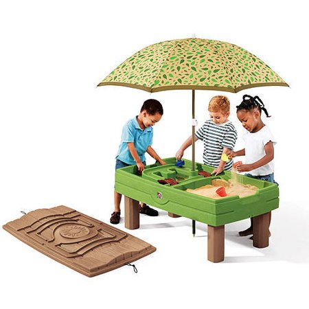 Step Naturally Playful Sand Water Activity Center