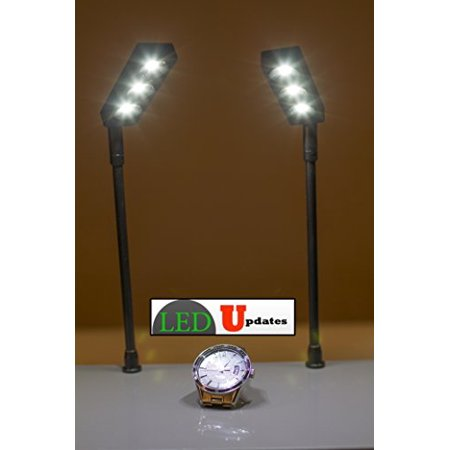 Display Showcases (Jewelry Showcase Display LED Light Pole Style FY-58 set of 2pcs with UL listed 12v Power)