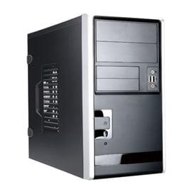Inwin Development 221942 In-win Case Em013.ch350ts3u2 Minitower Bk Sl 350w 2 2 [1] [1]bays 2xusb3.0