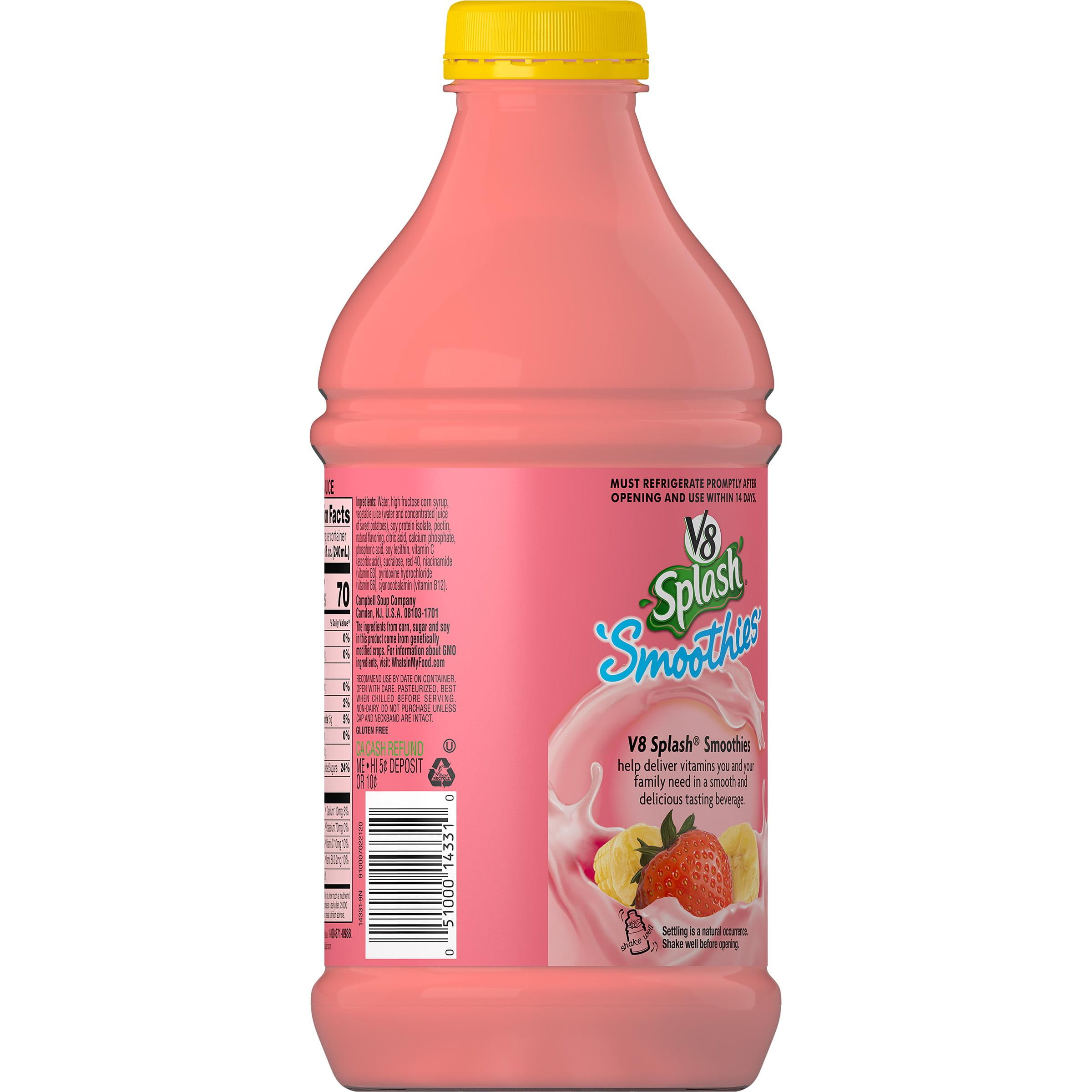 V8 Splash Smoothies Strawberry Banana