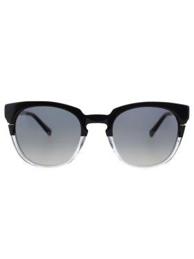 Cynthia Rowley No. 05 Women's Black Clear Round Sunglasses