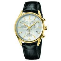 Calvin Klein K4M275C6 Formality Silver Dial Swiss Quartz Chronograph Mens Watch