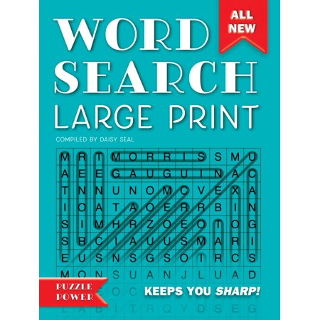 Word Search Large Print : Word Play Twists and Challenges
