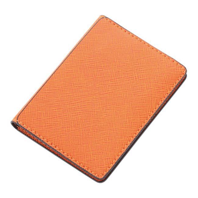 Aeropen International WL-103 Orange PU Leatherette ID-Card Holder