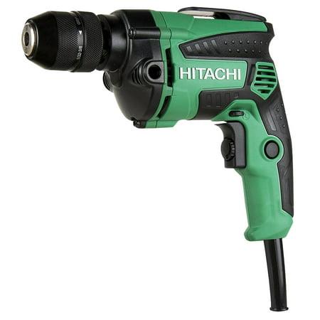 "Hitachi D10VH2M 3/8"" 7 Amp EVS Reversible Corded Drill"