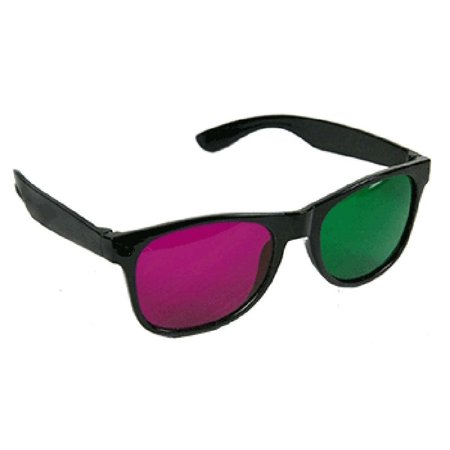 Green and Magenta Anaglyph 3D Glasses for Movies and Games, 100% Brand new high quality 3D glasses. By 3D - Diy 3d Glasses