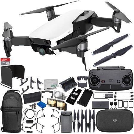 DJI Mavic Air Drone Quadcopter (Arctic White) 1-Battery Ultimate Bundle