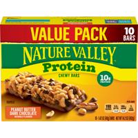 Nature Valley Granola Bar Protein Peanut Butter Dark Chocolate 10 Bars