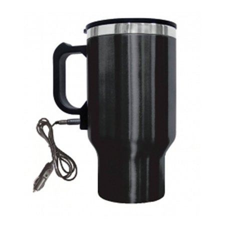 Bwood Electric Coffee Mug W Wire Car Plug