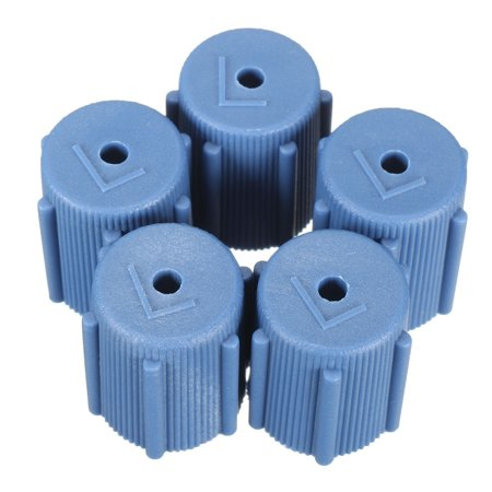 5x 13mm Air Conditioning Service AC A/C System Cap Charging Port R134a 13mm