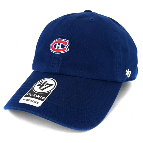 Montreal canadiens base runner micro logo clean up cap for Walmart meuble montreal