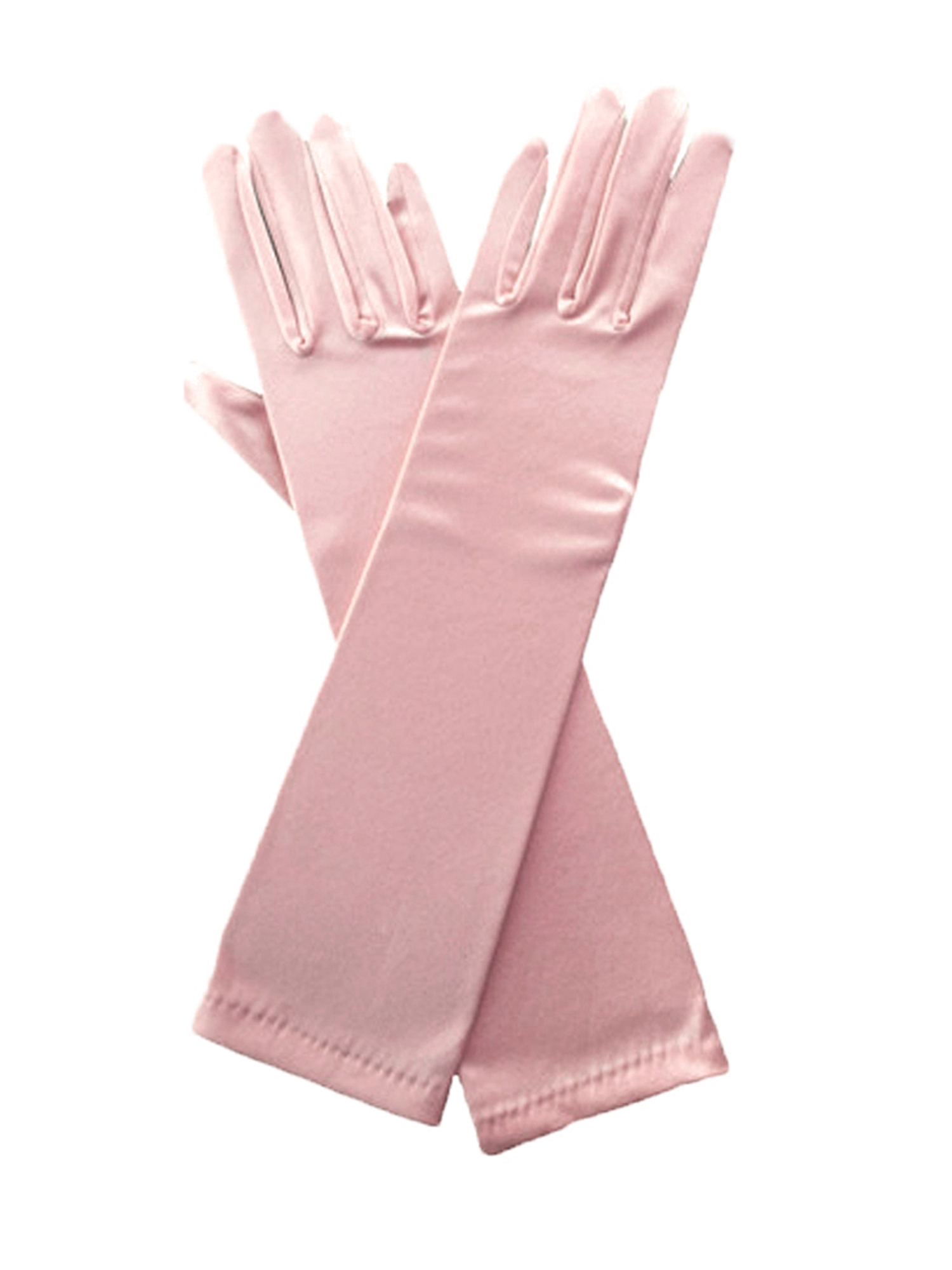 Opera Length Formal//Dress Up//Bedroom Stretch Satin Fashion Evening Gloves
