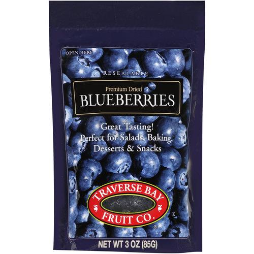Traverse Bay Fruit Co. Premium Dried Blueberries, 3 oz