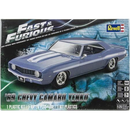 Plastic Model Kit-69 Chevy Camaro Yenko 1:25 (69 X 92 Model)