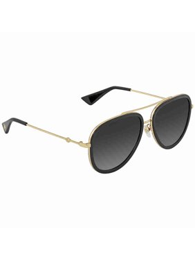 309aa89b798 Product Image Gucci Grey Gradient Aviator Ladies Sunglasses GG0062S 007 57