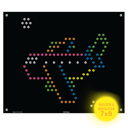 Lite Brite Refill: Things that Go for Ultimate Classic - NOT FOR OLDER LITE BRIGHT